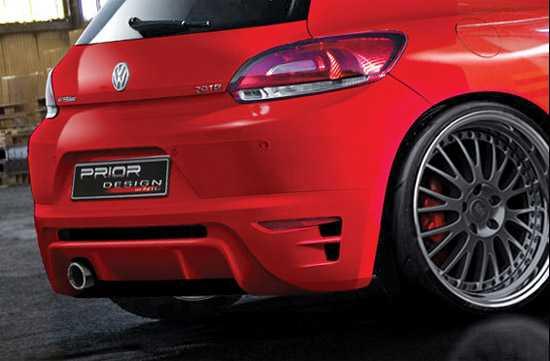Volkswagen Scirocco Prior Design - prawdziwy drapieznik