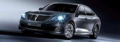 Hyundai Equus zaprezentowany w Korei