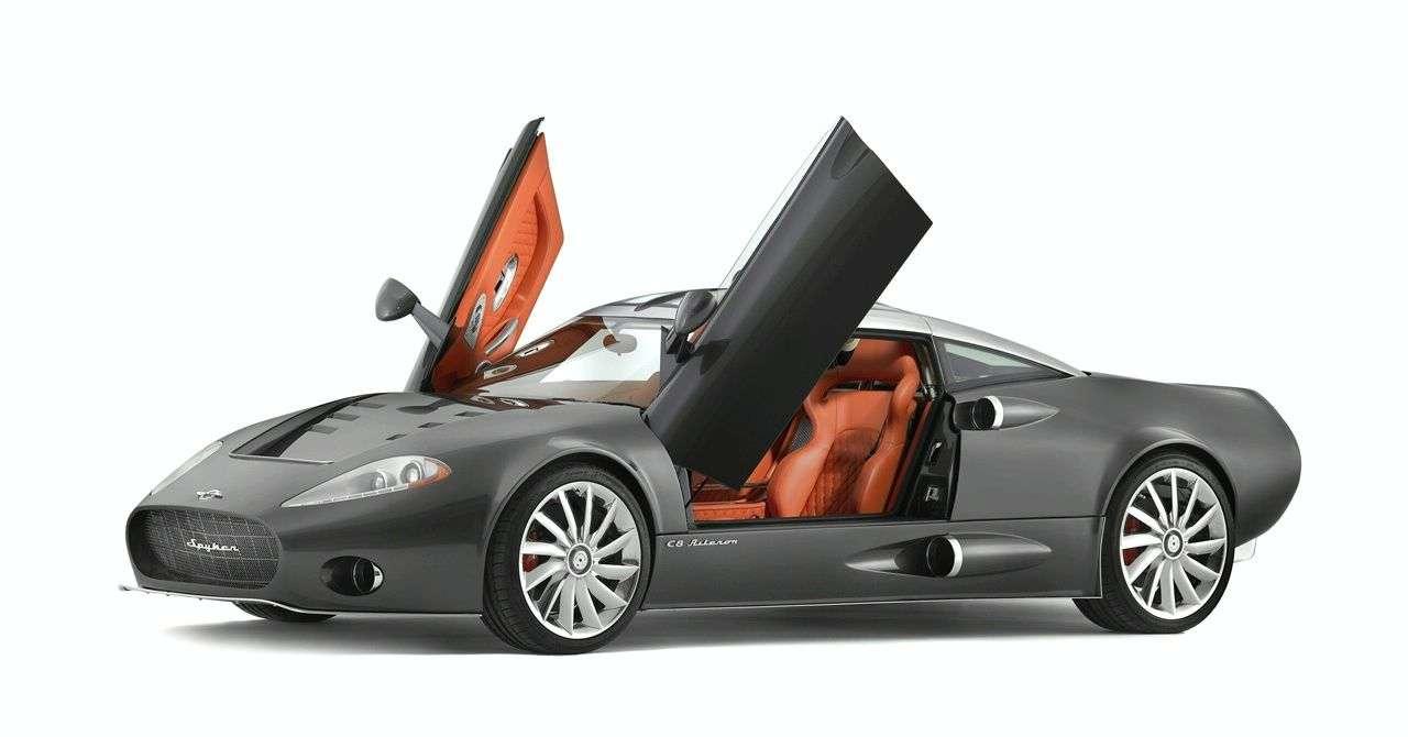 Debiut Spykera C8 Aileron potwierdzony
