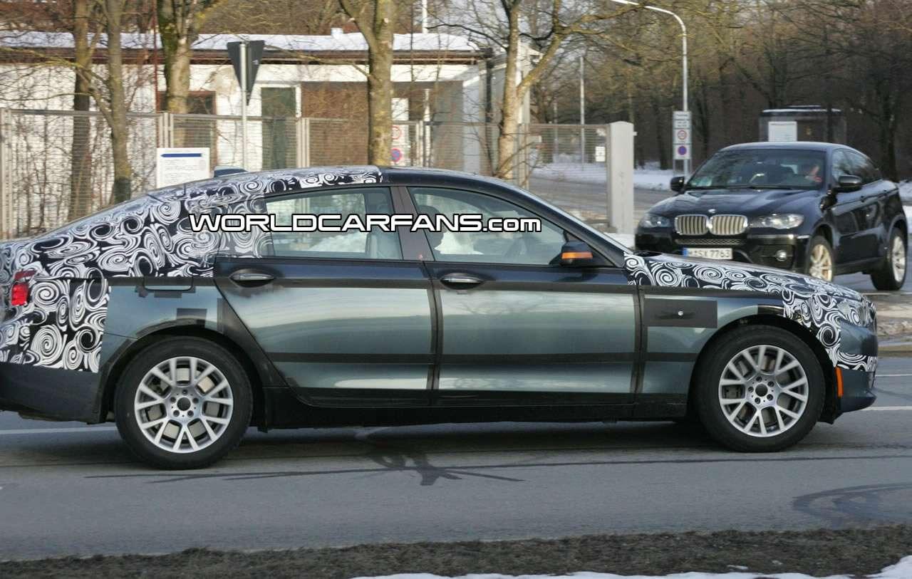 Zamaskowane BMW 5 GT