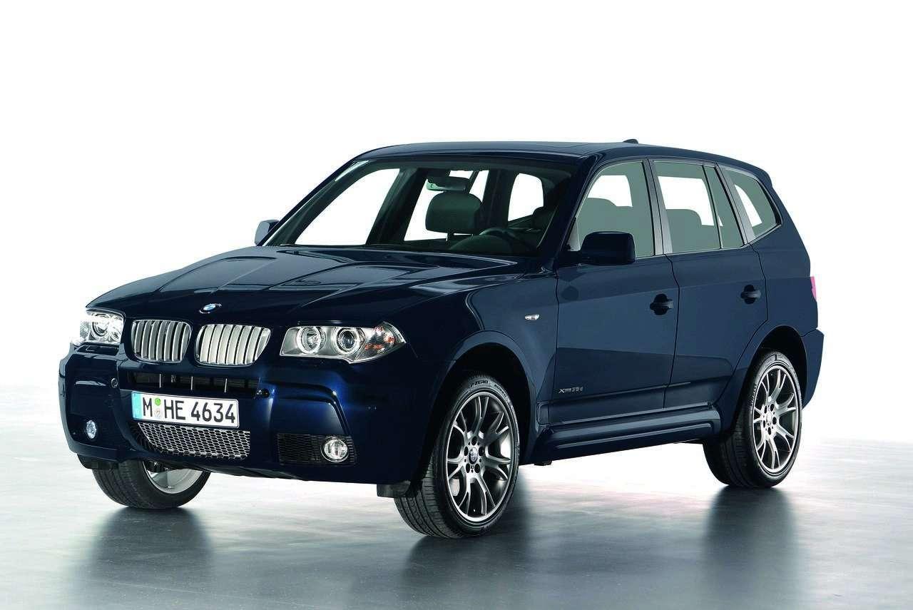 BMW X3 Sport Limited Edition na rynek niemiecki