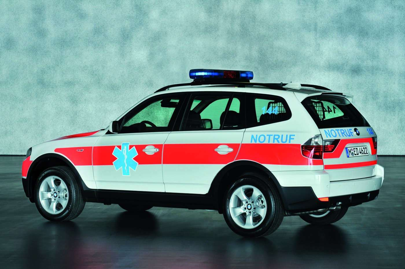 BMW X3 pogotowie
