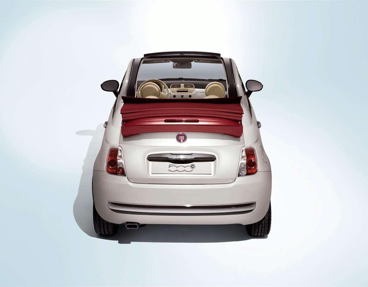 Fiat 500 Cabrio oficjalnie