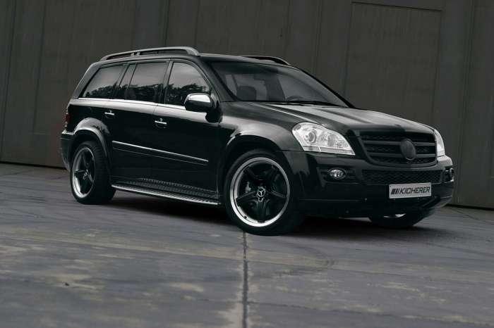 Mercedes GL 42 Black Line by Kicherer