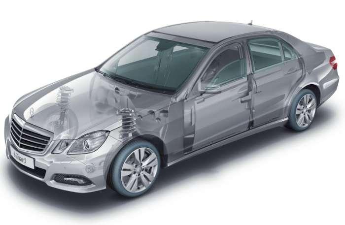 Mercedes dla prawdziwych gangsterów