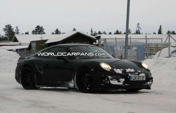 Porsche 911998 Targa po raz pierwszy?