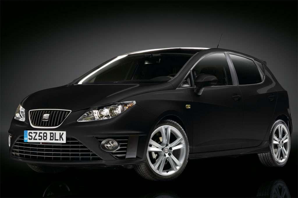 Seat Ibiza Black na rynek brytyjski