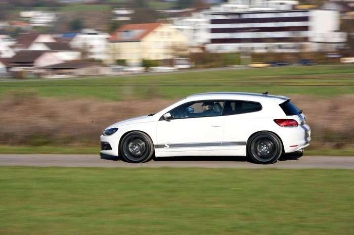 Udoskonalony Volkswagen Scirocco 350 by Sportec