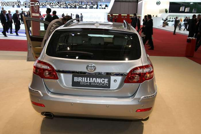 Brilliance BS4 Wagon