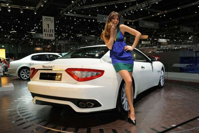 Maserati GranTurismo S Automatic Genewa