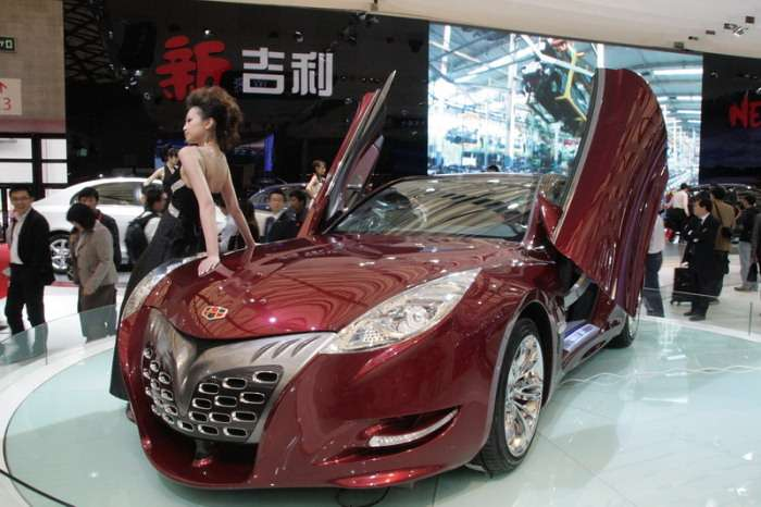 Geely GT Coupe