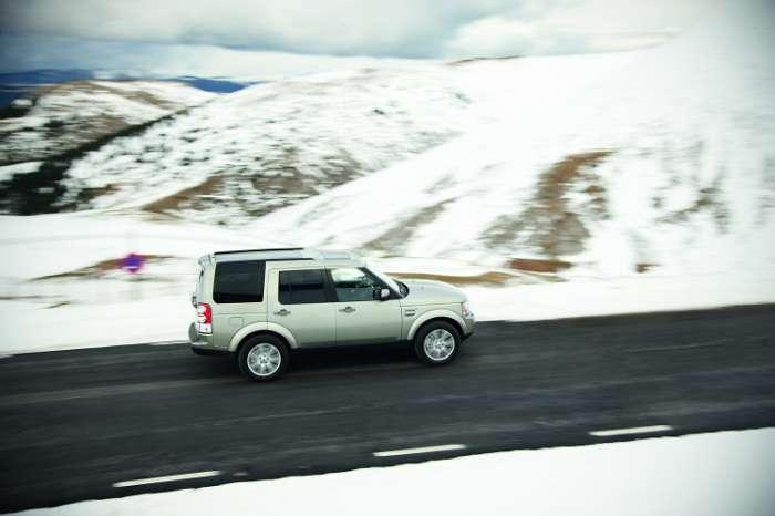 Zmodernizowany Land Rover Discovery 4