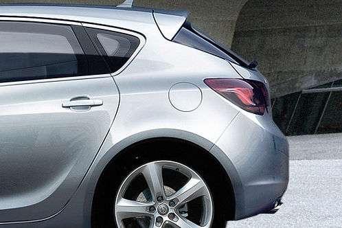 Opel Astra 2010 oficjalnie