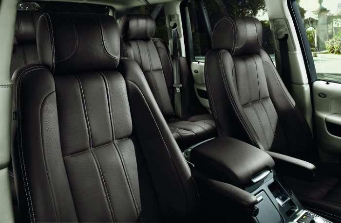 Zmodernizowany Range Rover