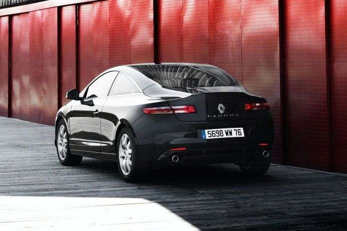 Renault Laguna Coupe Black Edition