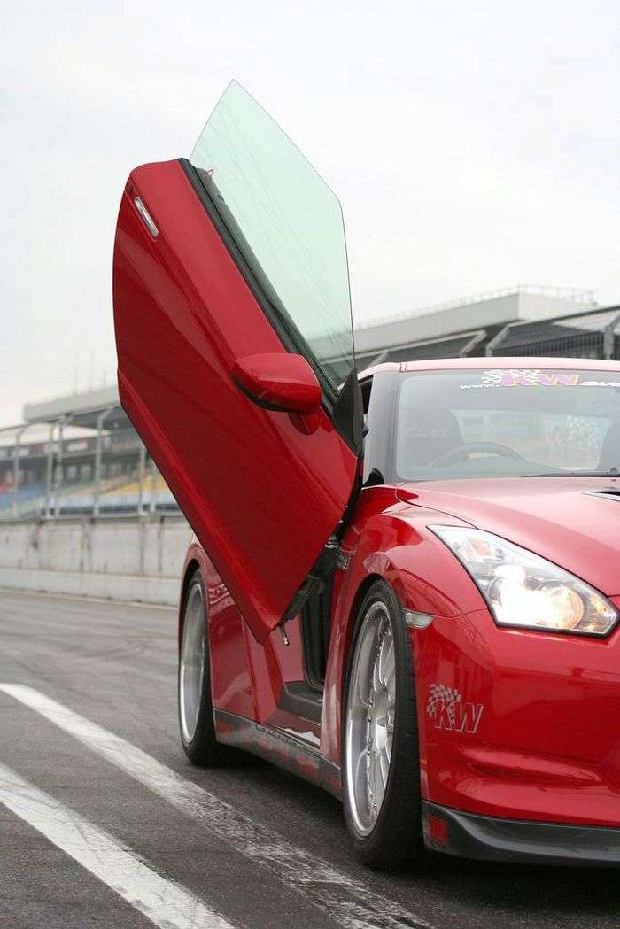 Skrzydła dla Nissana GTR by LSD
