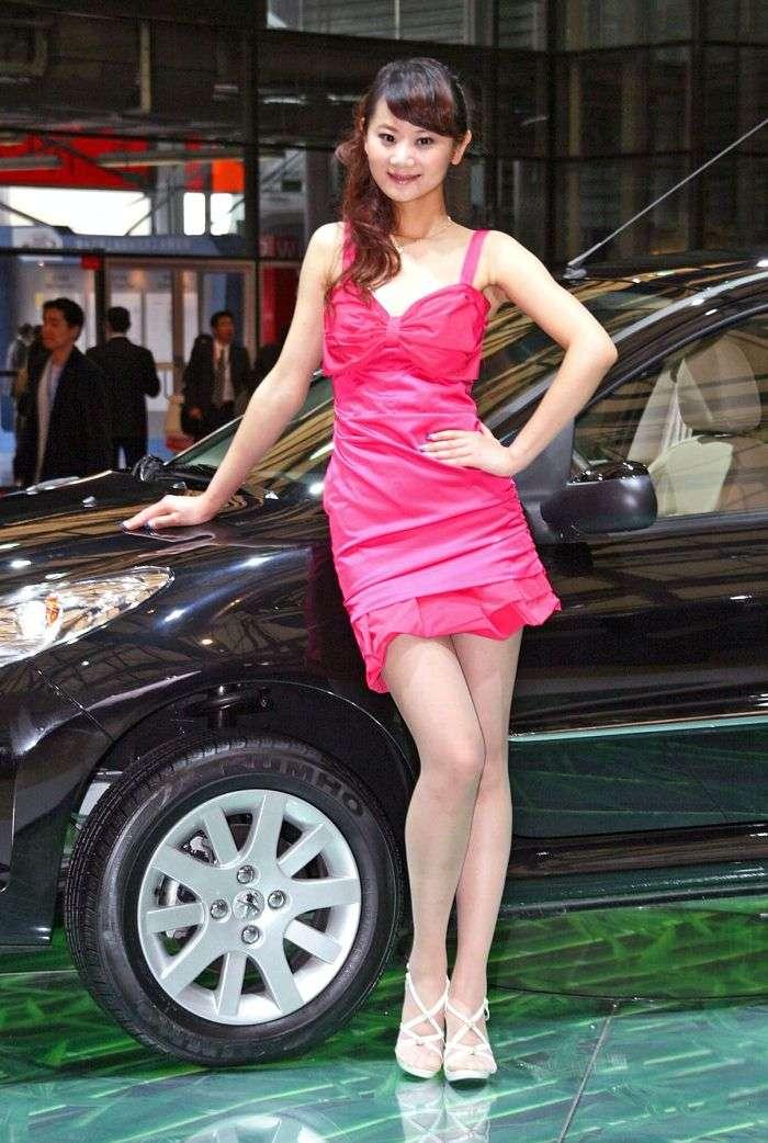 Szanghaj 2009 Hostessy
