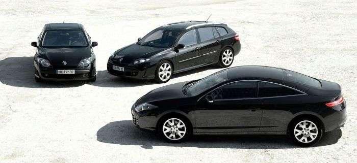 Renault Laguna Coupe Black Edition