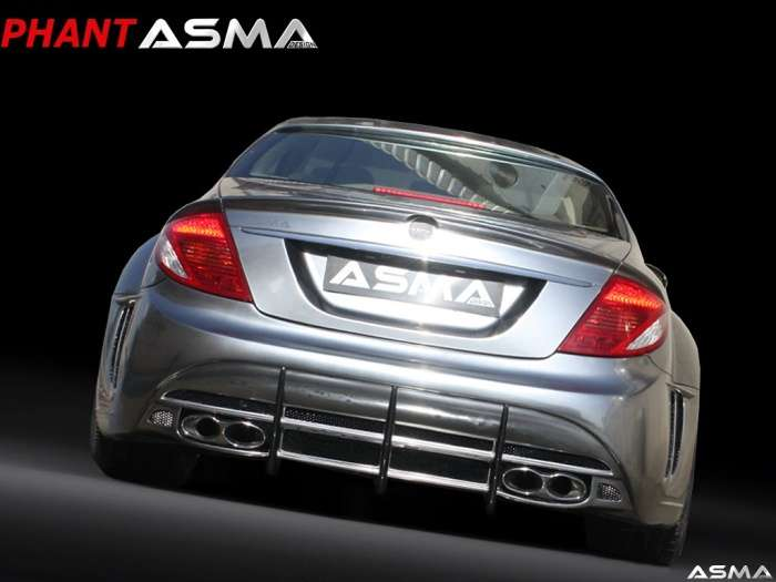 Mercedes CL65 AMG Phantasma CL Chrome