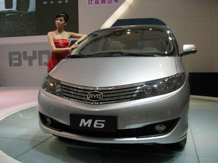 BYD M6 MPV