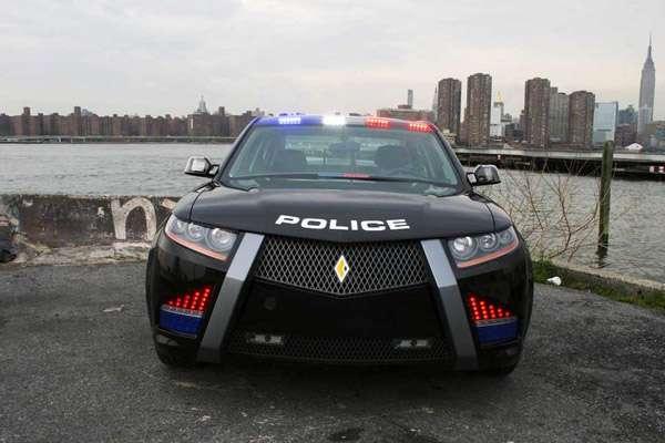 Carbon Motors E7 police