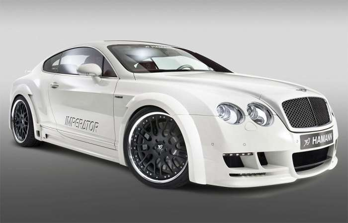 Bentley Continental GT by Hamann