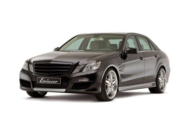 Mercedes E500 by Lorinser
