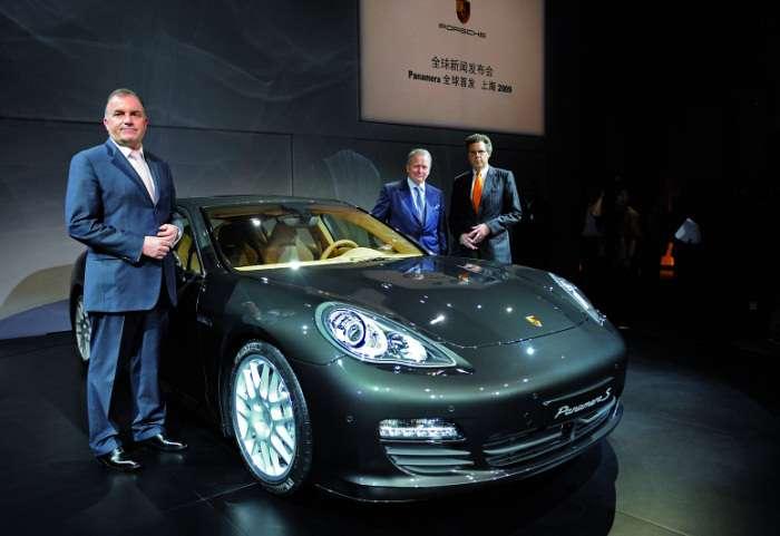 Porsche Panamera Szanghaj