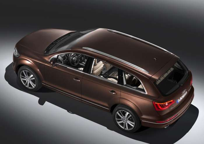 Audi Q7 facelifting
