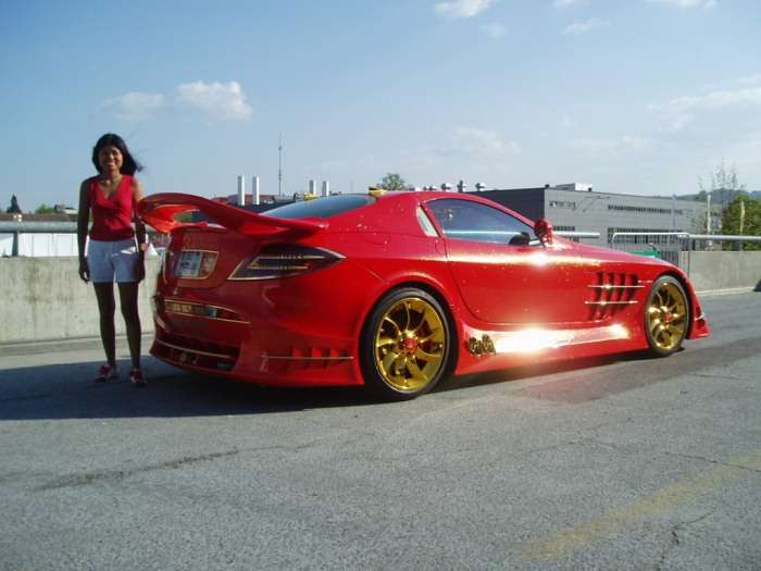 Mercedes SLR 999 Red Gold Dream