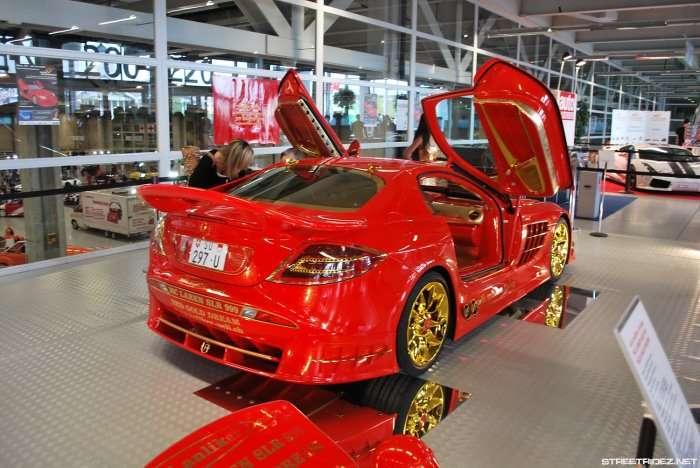 Mercedes SLR 999 Red Gold Dream