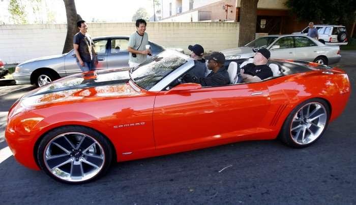Camaro bez dachu w 2011 roku