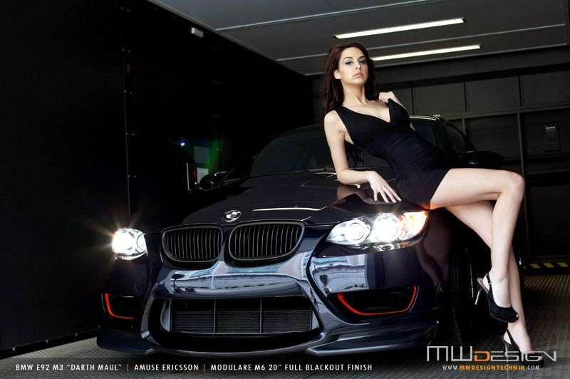 BMW M3 Darth Maul by MW Design