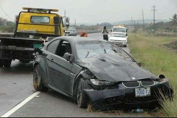 BMW M3 Usain Bolt