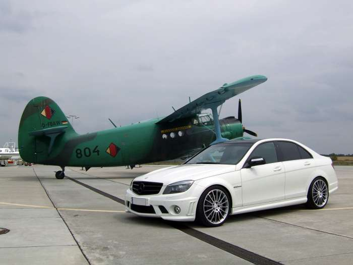 Mercedes C63 AMG by AVUS