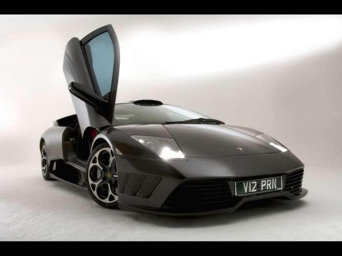 Lamborghini Murcielago by Prindiville wnetrze