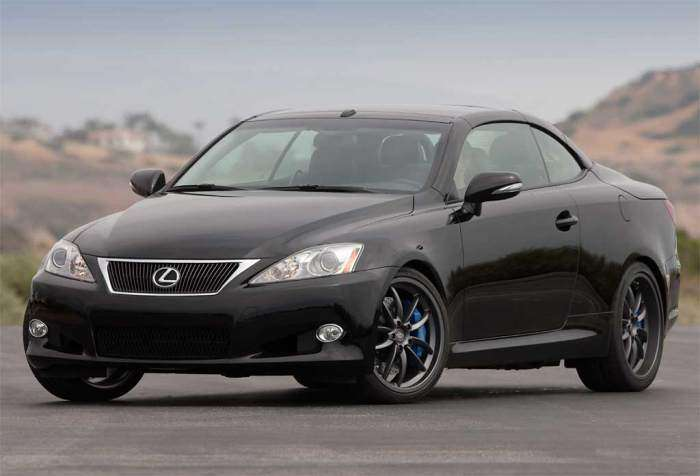 Lexus IS C FSport