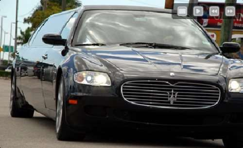 Maserati Quattroporte jamnik