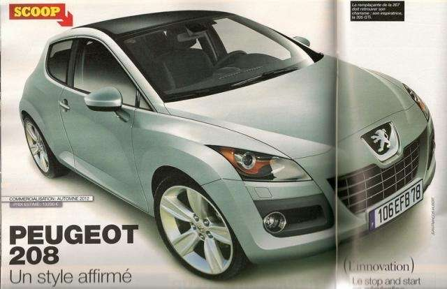 Peugeot 208 spekulacje
