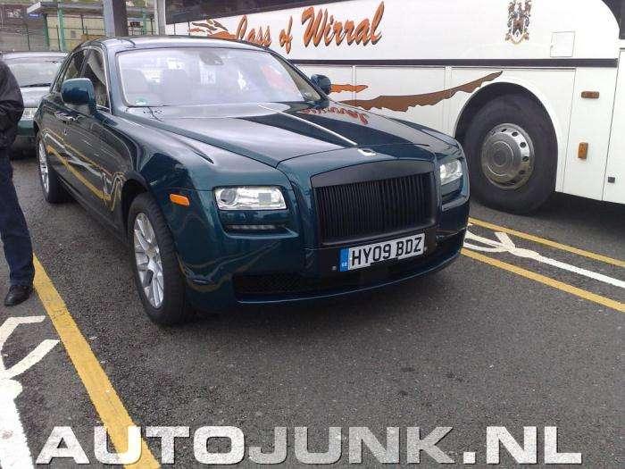 Rolls Royce Ghost szpiegowskie