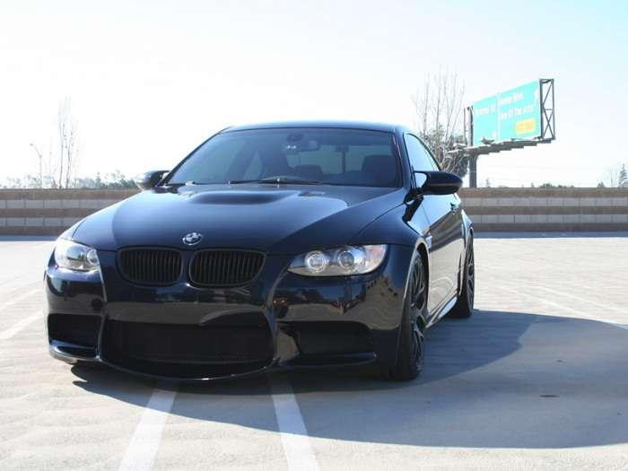 BMW M3 Flat Black