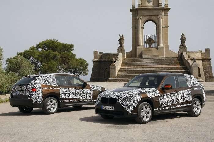BMW X1 szpiegowskie