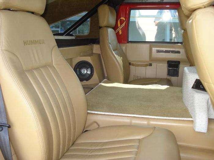 Hummer H1 w amerykanskim stylu