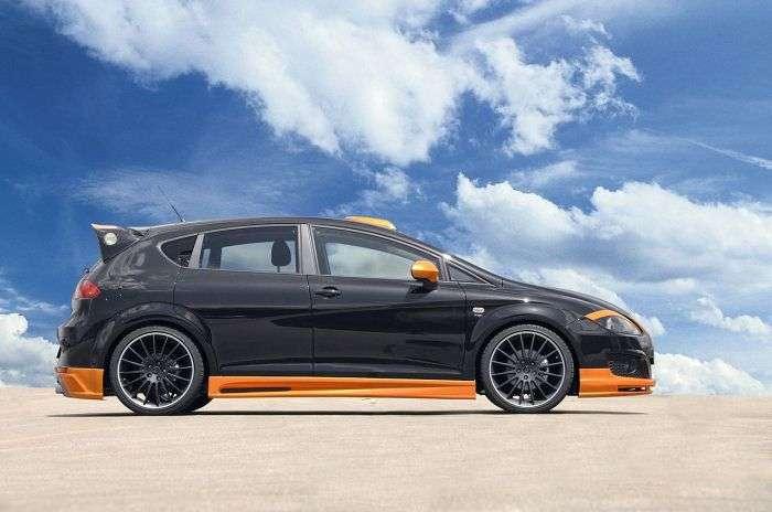Seat Leon facelift JE Design