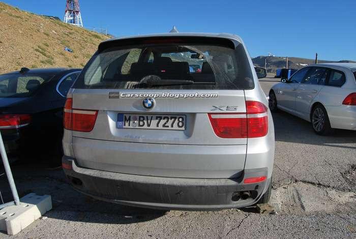 BMW X5 szpieg