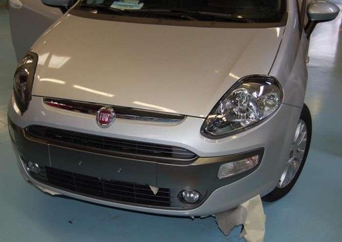 Fiat Grande Punto 2010 szpieg