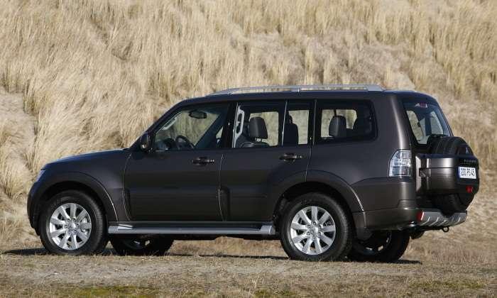 Mitsubishi Pajero 2010MY