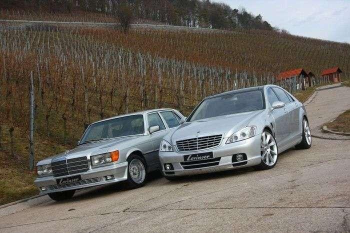 Mercedes W116 450 SEL Lorinser