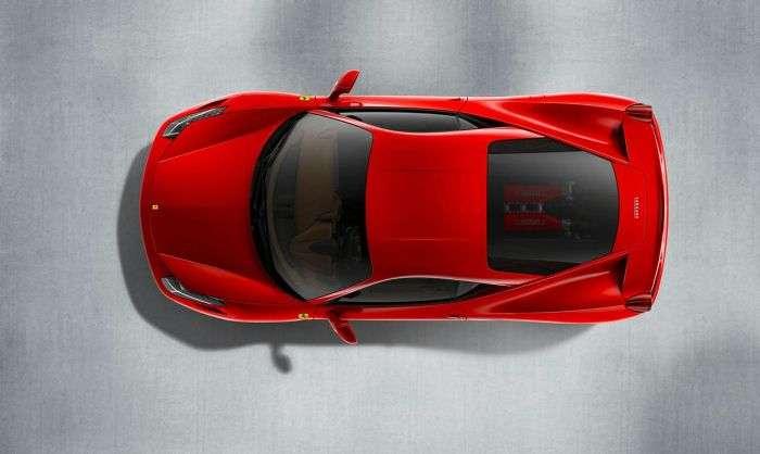 Ferrari 458 Italia sierpien 2009