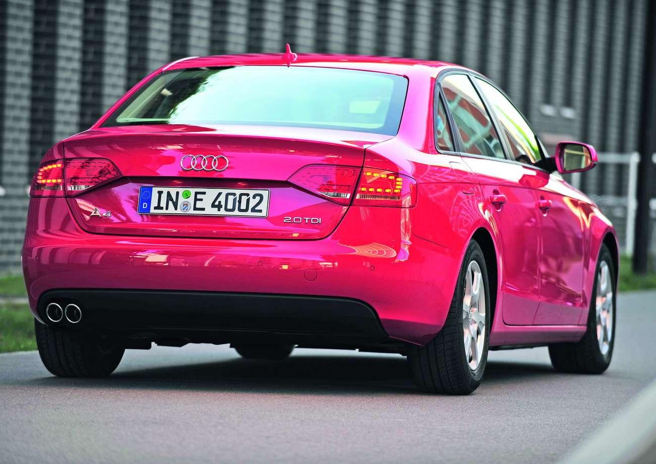 Audi A4 2.0 TDIe UK 2009